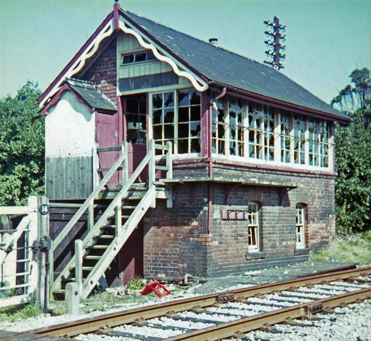 Breadsall signalbox photographed on 03SEP1968 by Howard Sprenger