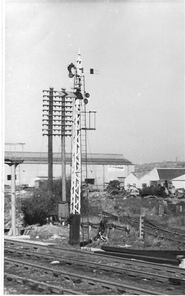 The Midland Railway's experimental wooden latice post signal